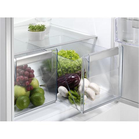 Electrolux 200cm frost-free A++ külmik-sügavkülmik EN3853MOX