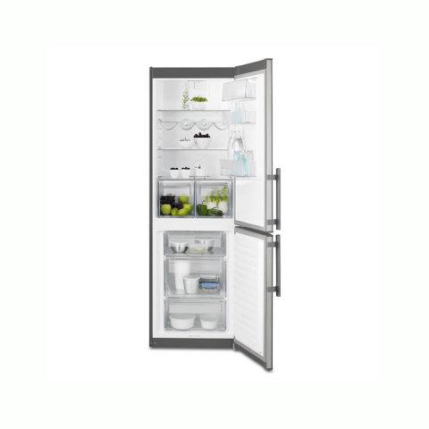 Electrolux 185cm energiasäästlik A++ külmik-sügavkülmik EN3613MOX