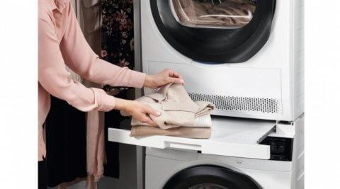 Vaheraam AEG ja Electrolux pesukuivati kinnitamiseks pesumasina peale-E4YHMKP2