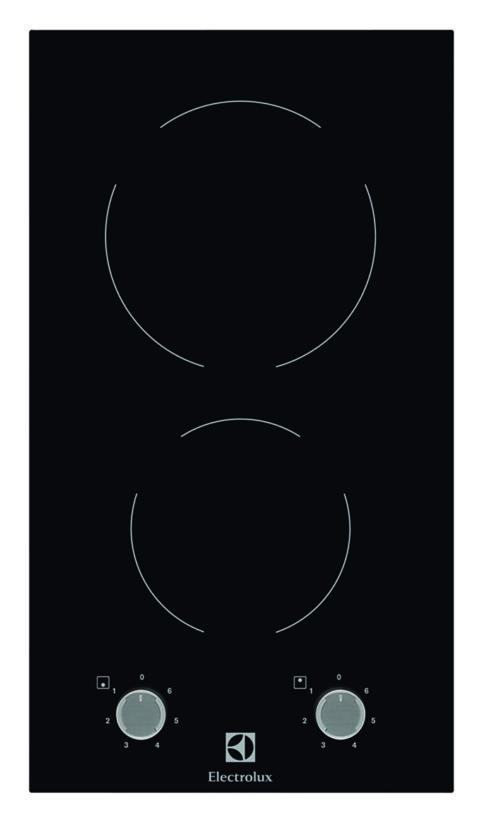 Electrolux Domino keraamiline pliidiplaat EHF3920BOK