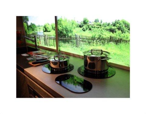 ABK InnoVent i-Cooking induktsioon pliidiplaadid 2 tsooniga (27cm ja 30cm) ICI0202
