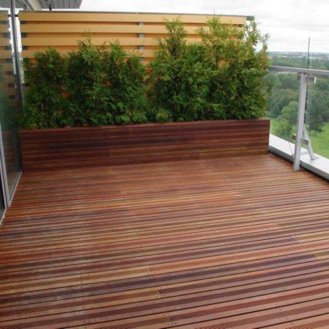 Eksootilisest puidust terrassilauad on väga vastupidavad