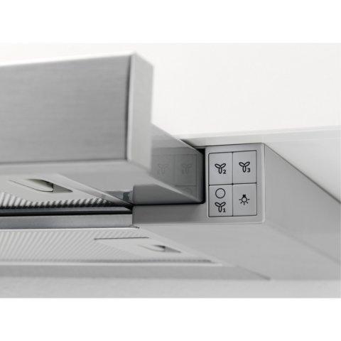 Electrolux integreeritud väljatõmmatav 60cm õhupuhasti EFP60460OX