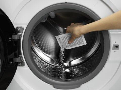 Nõude- ja pesumasina katlakivi- ja rasvaeemaldi Clean & Care (12 kuuks)