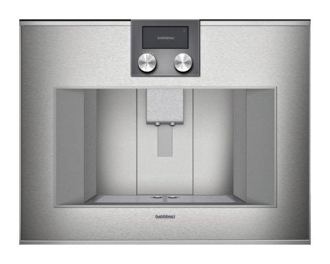 GAGGENAU integreeritav espressomasin CM470 111 roostevaba
