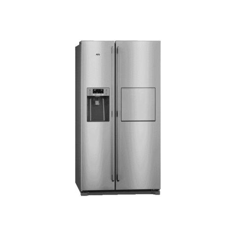 AEG side-by-side külmik-sügavkülmik RMB86111NX