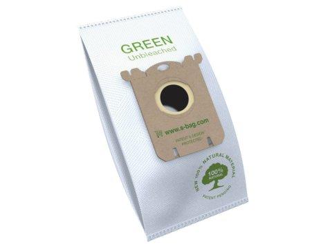 Keskkonnasõbralikud tolmukotid s-bag® Electrolux GREEN 4tk E212B