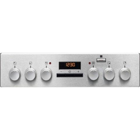 Electrolux 50cm keraamiline pliit elektriahjuga EKC54952OX PlusSteam