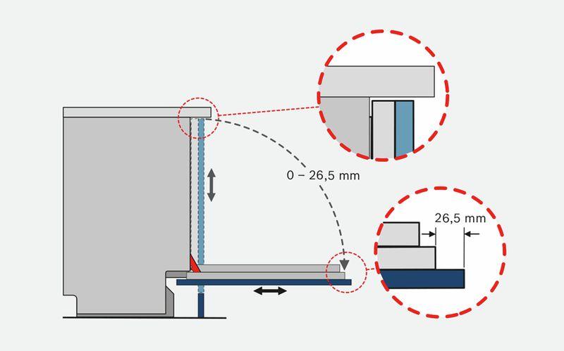 n udepesumasin 60cm t isintegreeritav bosch sbe67mx00e zeolith. Black Bedroom Furniture Sets. Home Design Ideas