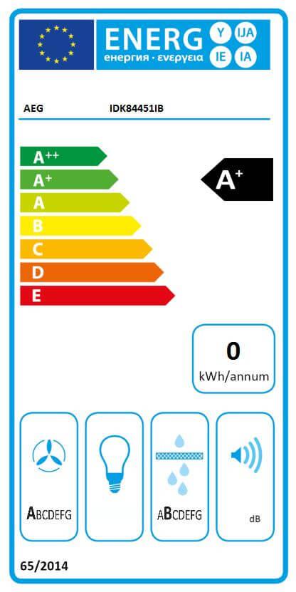AEG induktsioonpliidiplaat koos õhupuhastiga IDK84451IB