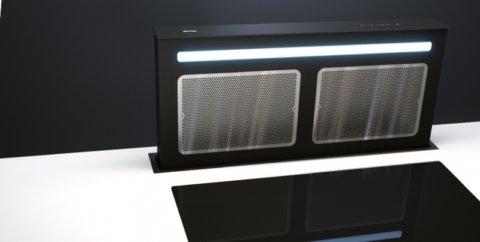Integreeritav tööpinna seest tõusev õhupuhasti SDD12EM
