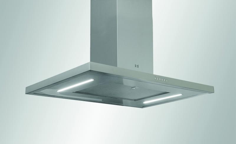 Laekinnitusega õhupuhasti köögisaarele SIRIUS SIL24