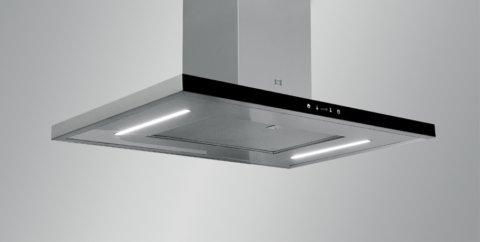 Laekinnitusega õhupuhasti köögisaarele SIRIUS SIL24TC
