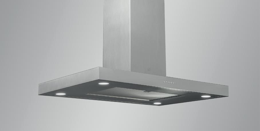 Laekinnitusega õhupuhasti köögisaarele SIRIUS SIL5 120