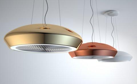 Laekinnitusega õhupuhasti köögisaarele SIRIUS SILT26