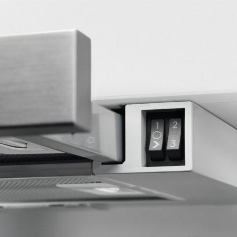 Electrolux integreeritud väljatõmmatav 60cm õhupuhasti LFP216S
