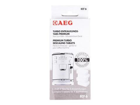 AEG katlakivieemaldustabletid kohvimasinale (4tk) EFC6, kohvimasina hooldus