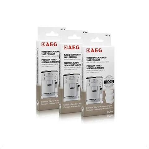 AEG katlakivieemaldustabletid kohvimasinale (4tk) ECF 6