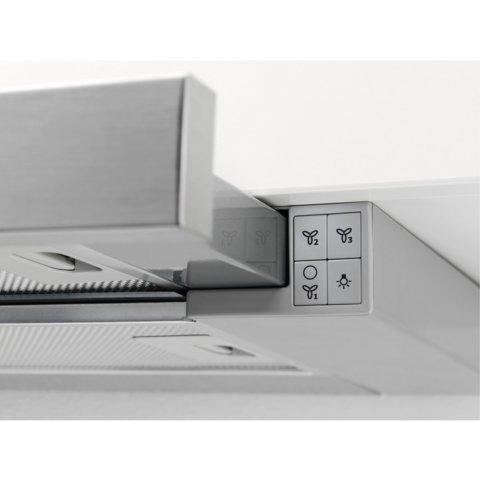 Electrolux integreeritud väljatõmmatav 60cm õhupuhasti LFP226X