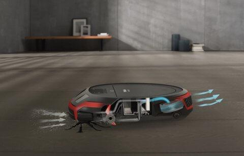 Robottolmuimeja Miele Scout RX2 - SLQL0 00 mobiilirakendus
