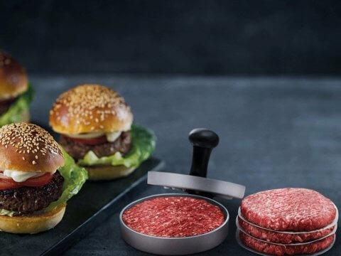 Electrolux burgeri press EHP01 - lihtsam valmistada, ilusam tulemus