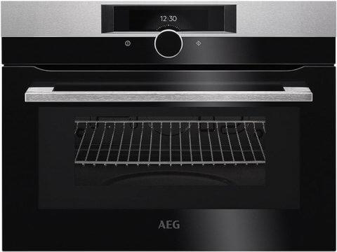AEG integreeritav kompaktne ahi mikrolainefunktsiooniga KMK821000M