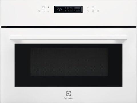 Electrolux valge kompaktne mikrolaineahi grillfunktsiooniga EVK8E00V