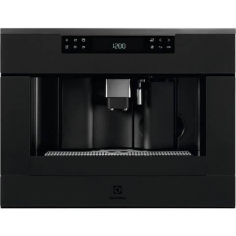 Electrolux integreeritav stiilne matt must kohvimasin KBC65T