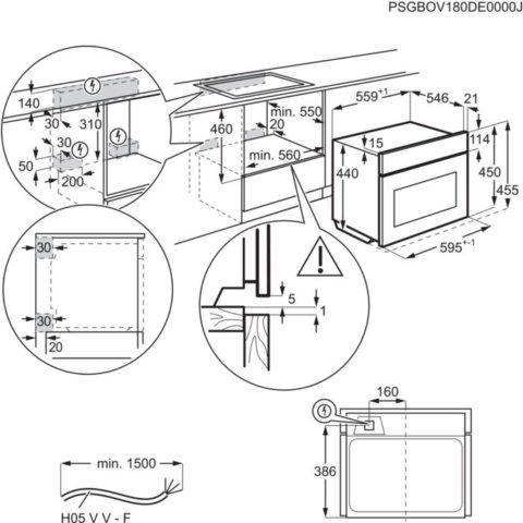AEG integreeritav kompaktne SteamBoost auruahi KSE782220M