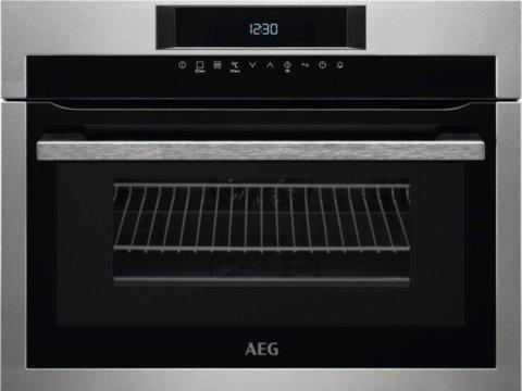 AEG integreeritav kompaktne ahi mikrolainefunktsiooniga KME761000M