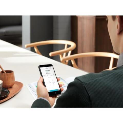 Electrolux appiga juhitav SteamBoost kompaktne auruahi KVBAS21WX