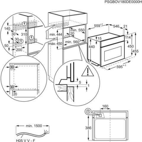 Electrolux kompaktahi mikrolaine funktsiooniga KVLBE00X