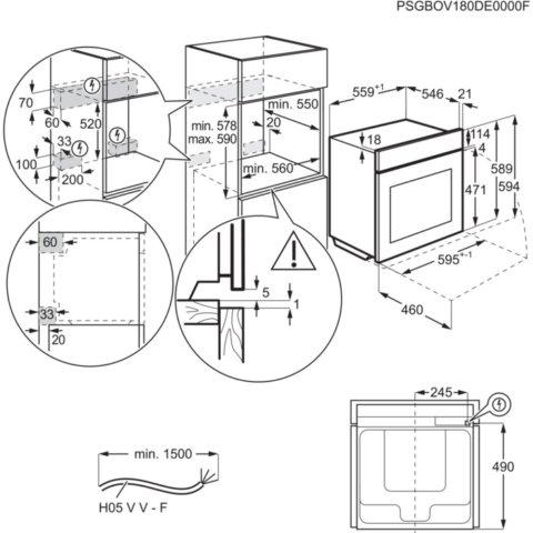 Electrolux appiga ja toidutermomeetriga sous-vide auruahi KOAAS31WT