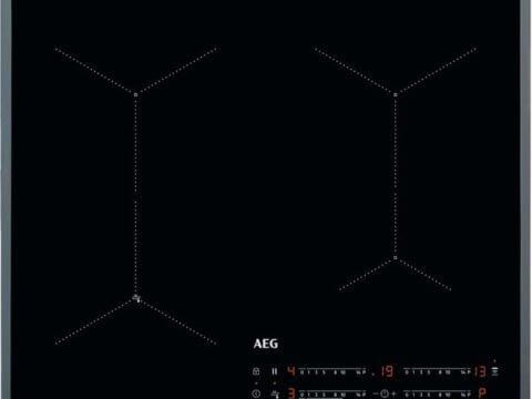 AEG 60cm SenseFry integreeritav Hob2Hood induktsioonpliit IAE64431FB