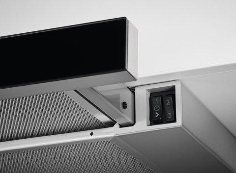 Electrolux integreeritud väljatõmmatav 60cm õhupuhasti LFP316AB