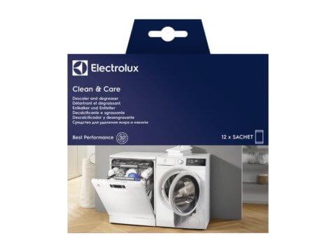 Nõude- ja pesumasina katlakivi- ja rasvaeemaldi CLEAN & CARE (12tk)