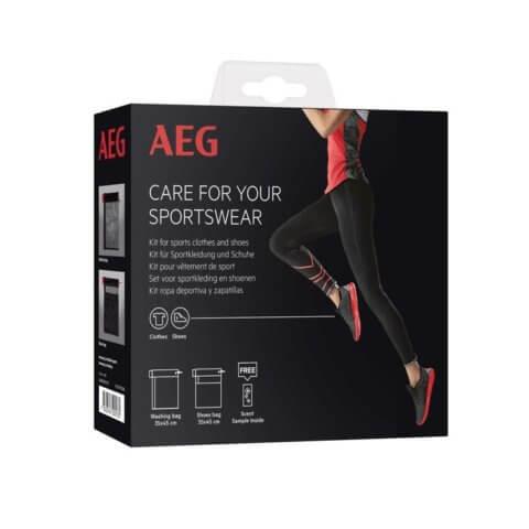 AEG spordiriiete ja -jalanõude hoolduskomplekt pesemiseks