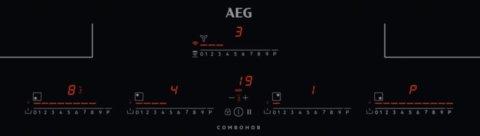 AEG Hob2Hood induktsioonpliidiplaat koos õhupuhastiga IDK84453IB