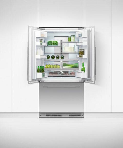 Fisher & Paykel French Door külmik vee- ja jäämasinaga RS90AU1