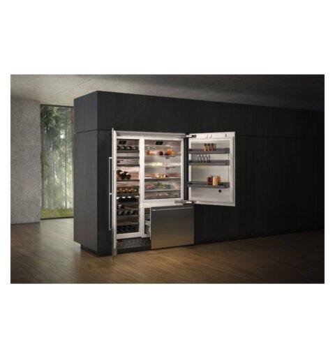 Gaggenau sisseehitatud jäämasina ja sügavkülma sahtliga Side-by-Side külmik