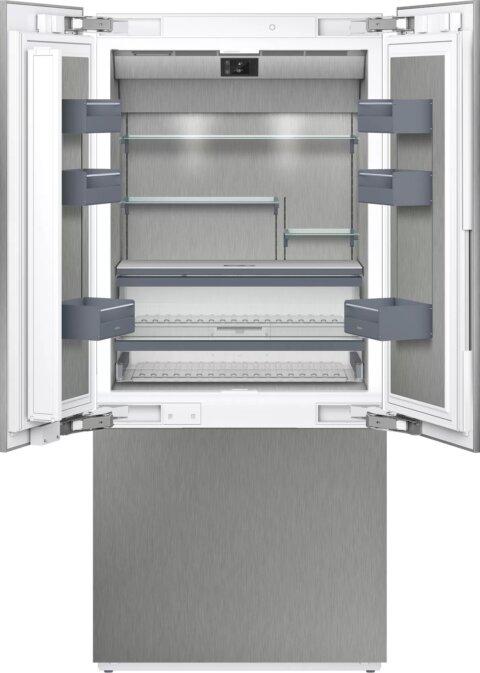 Gaggenau sisseehitatud jäämasina ja sügavkülma sahtliga külmik
