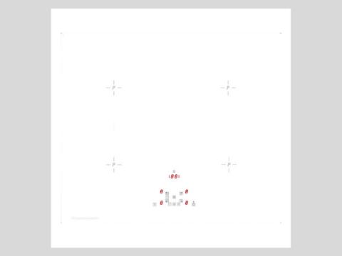 Küppersbusch valge 60cm süvistatav induktsioonplaat