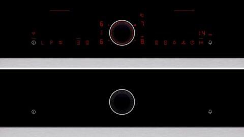 NEFF TwistPad-nupuga juhitav HomeConnect FlexInduction-pliidiplaat