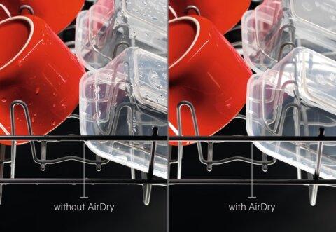 AEG integreeritav A++ AirDry nõudepesumasin FSE83807P