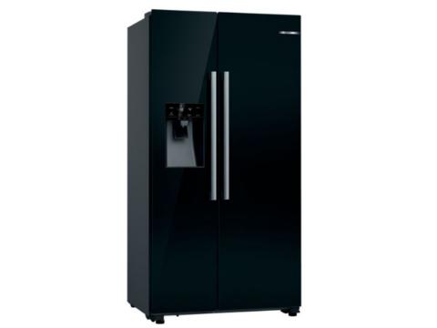 Bosch must Ameerika Side-By-Side külmik KAD93VBFP
