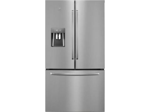 Electrolux side-by-side jäämasina ja sügavkülma sahtliga külmik