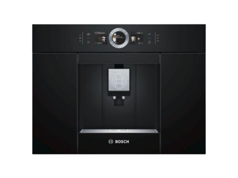 Bosch Serie 8 integreeritav täisautomaatne must kohvimasin CTL636EB6