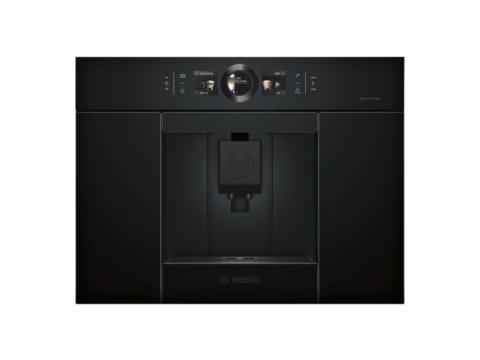 Bosch Serie 8 integreeritav täisautomaatne must kohvimasin CTL836EC6