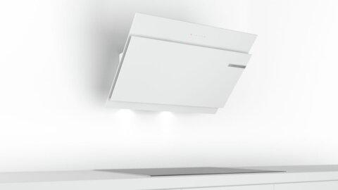 Bosch seinale paigaldatav köögiõhupuhasti90 cm valge DWK97JM20