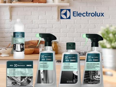 Electrolux köögitehnika ja pesuseadmete hoolduskomplekt (5 toodet)